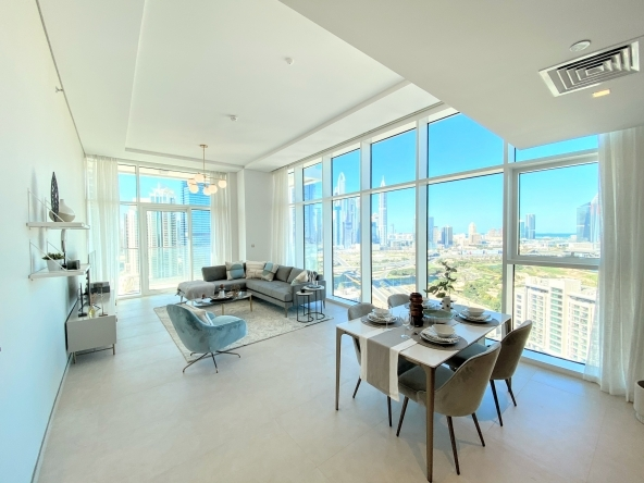A brand new and modern 2 bed apartment
