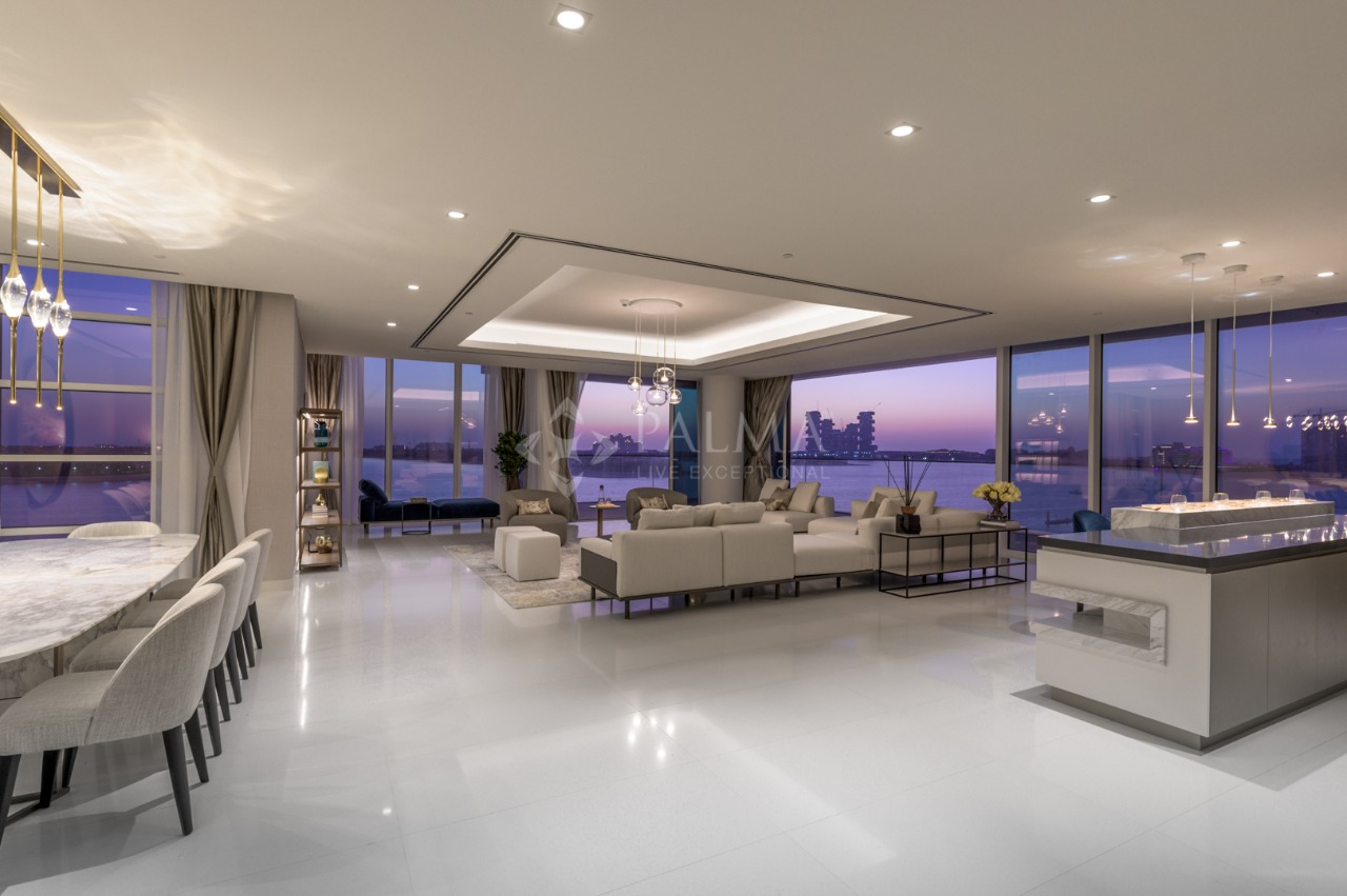 Luxury Penthouse with Palm Jumeirah view