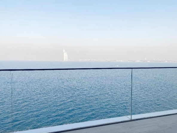 Luxury 2 Bedroom Apartment with Burj Al Arab Sea View