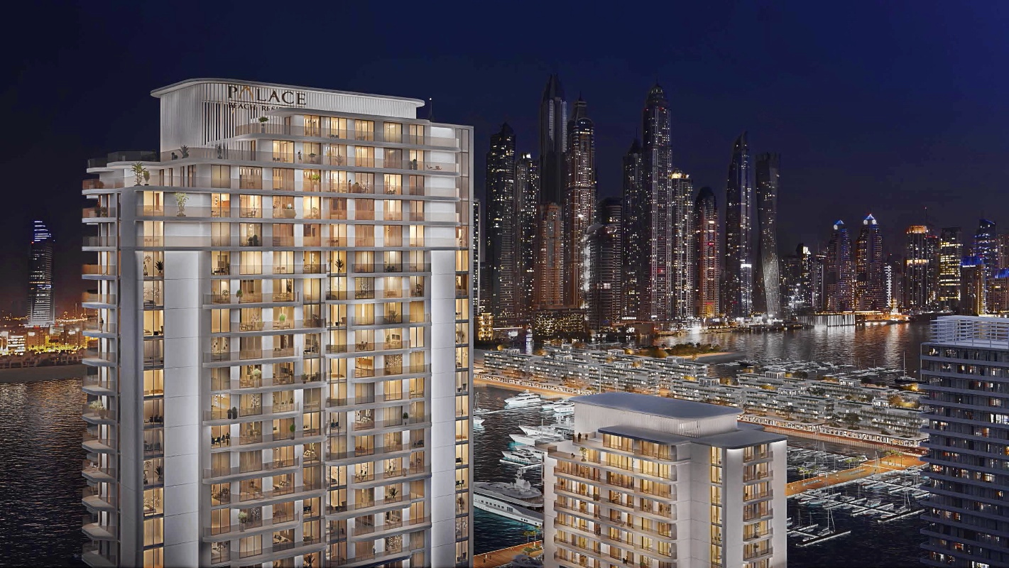 1 bed apartment on the waterfront of Dubai.