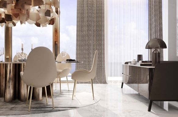 Luxury 3 Bed Apartment Designed by Elie Saab