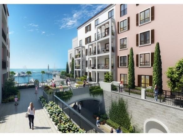 Port De La Mer 1 Bed Apartment with Partial Marina View