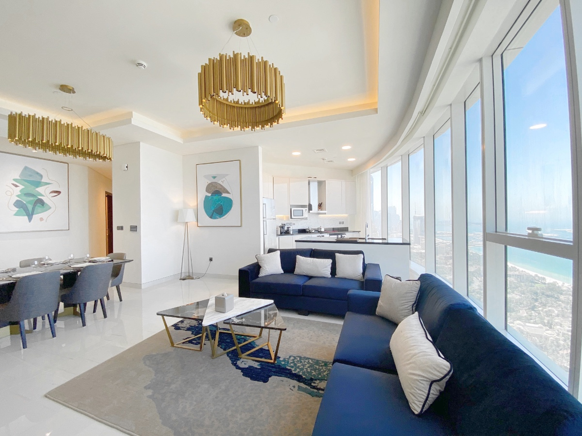 Luxury 2 Bed Apartment   Palm Jumeriah View   5 Years Payment Plan